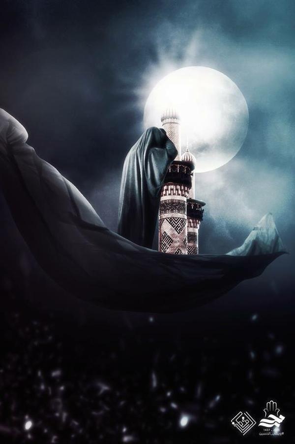السلام على زينب .. جبل الصبر #ويبقى_الحسين ..