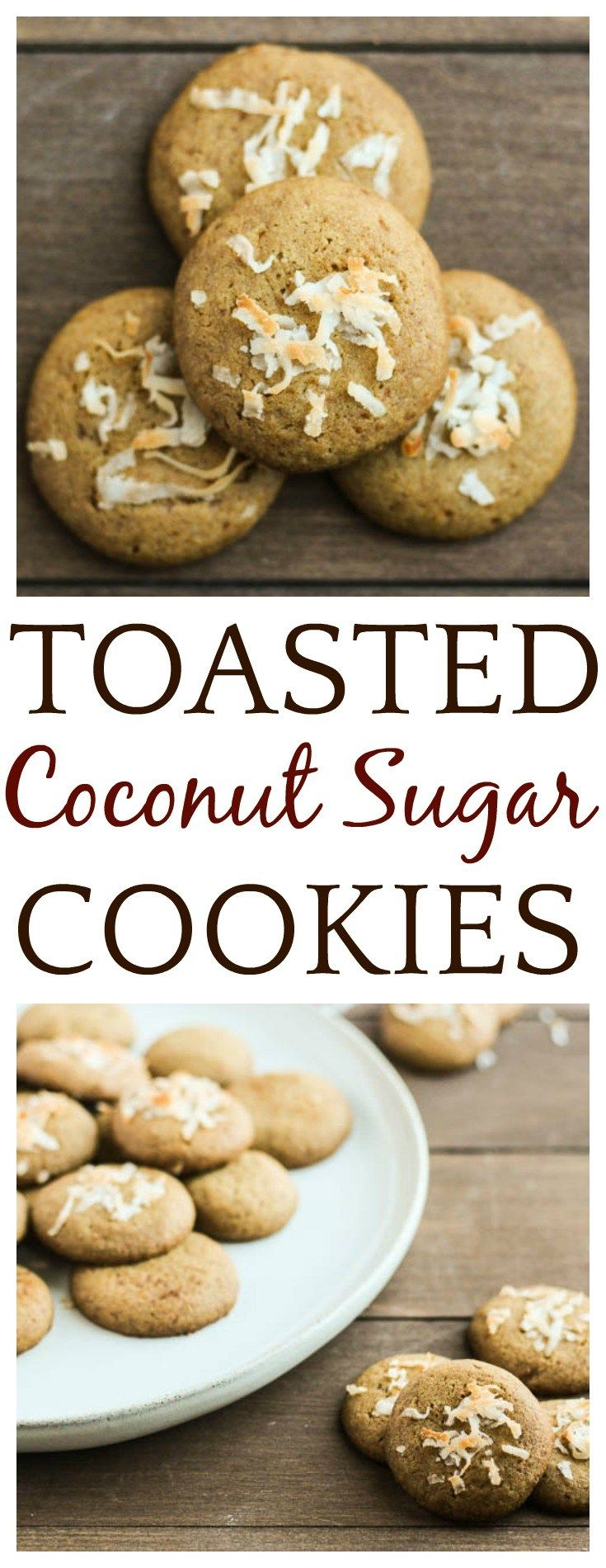 Toasted Coconut Palm Sugar Cookies