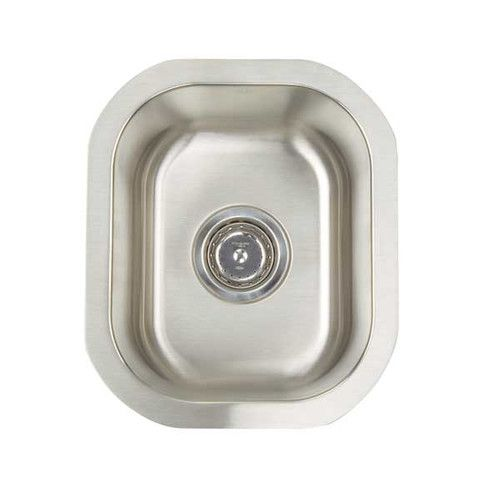 """Found it at Wayfair - Premium Series 12.5"""" x 14.75"""" Undermount Single Bowl Bar Sink"""
