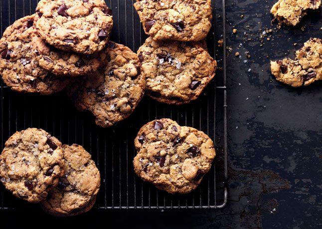 Salty Chocolate Chunk Cookies - Bon Appétit