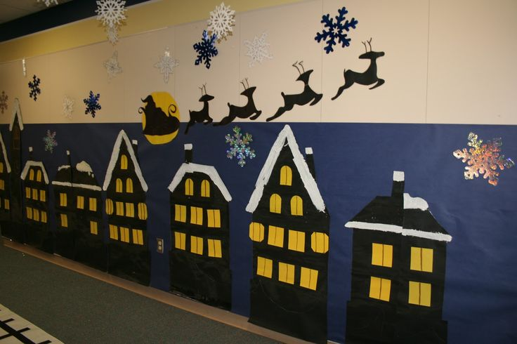 polar express hallway decorations | ... Hope: A Christmas Party, Polar Express Day and a barfing sister story
