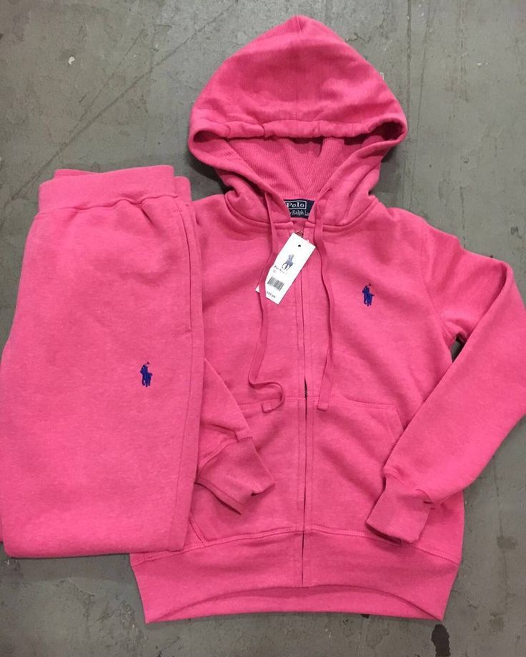 LADIES POLO JOGGING SUIT $80 SIZES SM-3XL