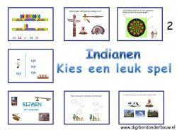 Digibordles 7 verschillende spelletjes over Indianen. http://digibordonderbouw.nl/index.php/themas/indianen/indianendigibordlessen/viewcategory/183
