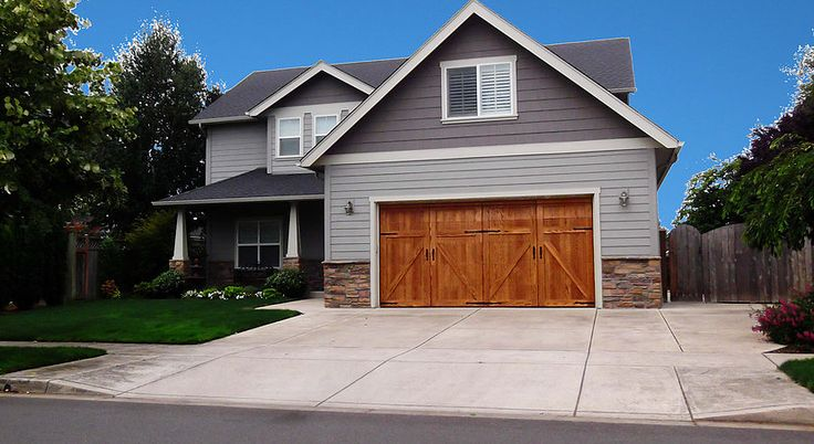 17 best ideas about wood garage doors on pinterest painted garage doors garage doors and - Top notch image of home exterior decoration with clopay garage door ideas ...