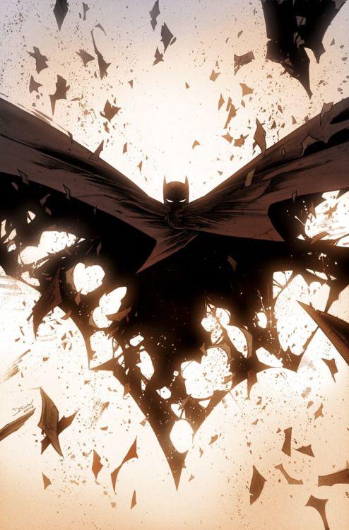 "spacebetweenpanels: ""All Star Batman #5 (Cover art by Declan Shalvey) """
