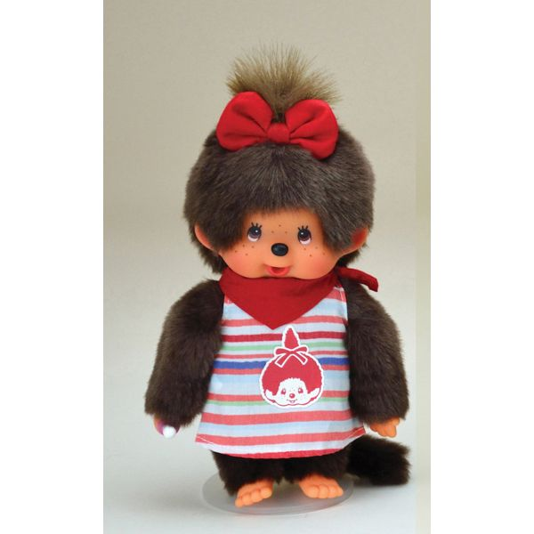 Monchhichi Fashion Border Girl. Strutting in with style :)