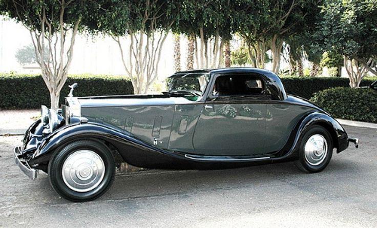 1935 Rolls Royce Phantom Coupe. ✏✏✏✏✏✏✏✏✏✏✏✏✏✏✏✏ IDEE CADEAU / CUTE GIFT IDEA ☞ http://gabyfeeriefr.tumblr.com/archive ✏✏✏✏✏✏✏✏✏✏✏✏✏✏✏✏