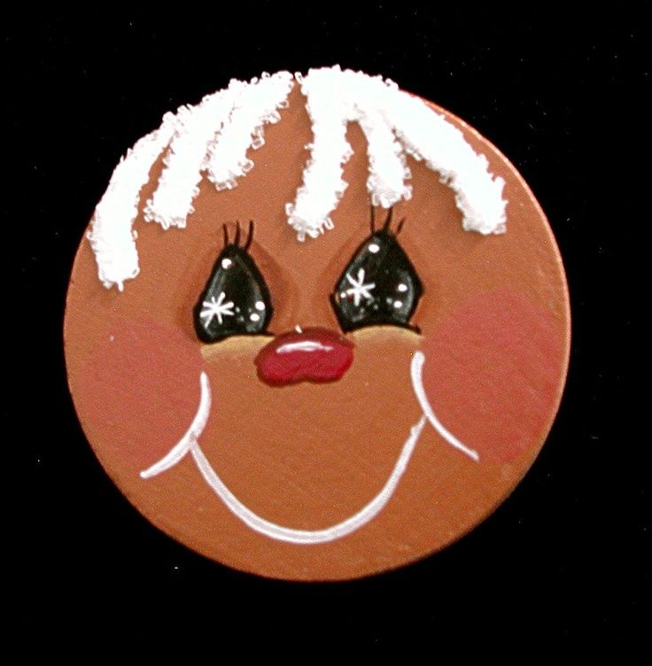 gingerbread men crafts   Gingerbread Man Pin.   gingerbread crafts