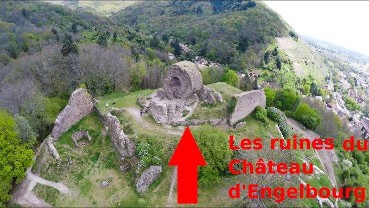 Survole de Thann et de l'Oeil de la Sorcière (Château d'Engelbourg)