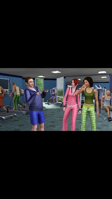 Sims haha