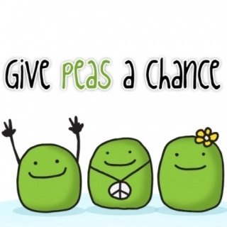 Give peas a chance...