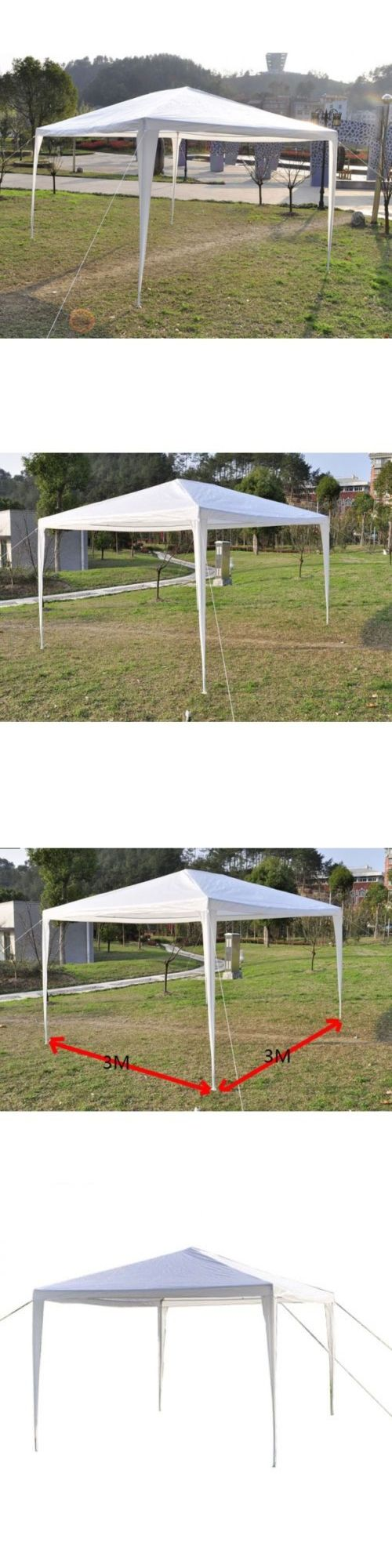 Marquees and Tents 180994: 10X10 Ez Pop Up Party Wedding Canopy Tent Outdoor Heavy Duty Gazebo Pavilion -> BUY IT NOW ONLY: $37.9 on eBay!