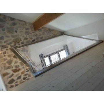 filet de catamaran pour mezzanine int rieure chambre. Black Bedroom Furniture Sets. Home Design Ideas