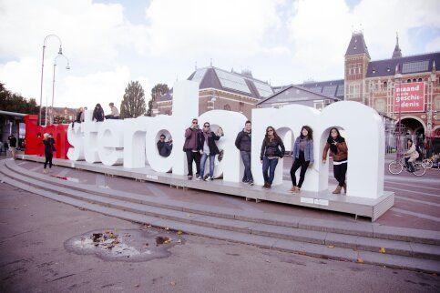 Mari. Uno de los mejores viajes. Amsterdam vivido en compañía.