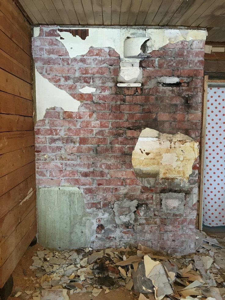 Murstock Tegelvägg Byggnadsvård