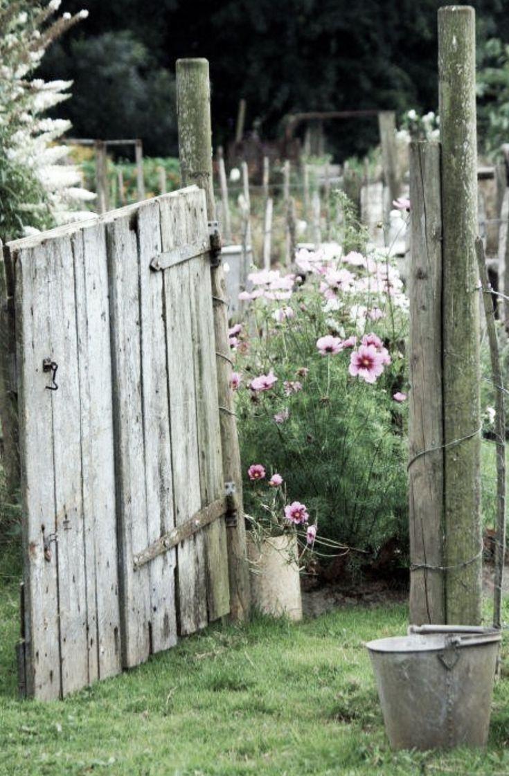 Wooden picket fence transparent backgroundgarden and gardening - The Goose Gate Trevoole Farm Les Cosmos Sont Le Sourire Du Jardin