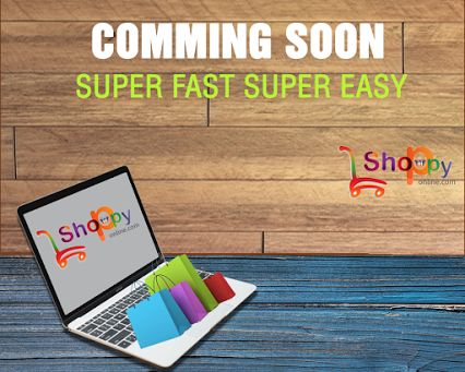 shoppyonline.com would coming soon with huge range of products in India.We are approaching with variety of products such as  Mens Apparel Store,Womens Apparel Store,Kids Wear, Footwear,Home Furnishing,Handmade Products,Bags & Wallets,Accessories & EyeWear,Jewellery,Eco-Friendly Products.