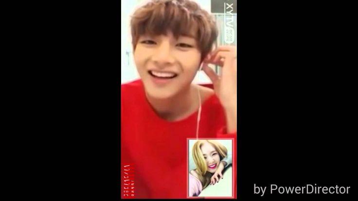 BTS V and Red Velvet Irene Video Call (VRene/TaeRene)