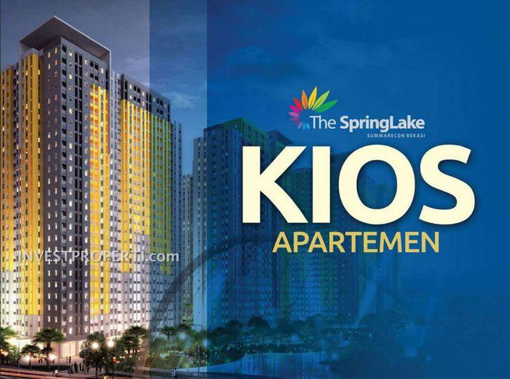 Kios Apartemen SpringLake Summarecon Bekasi.