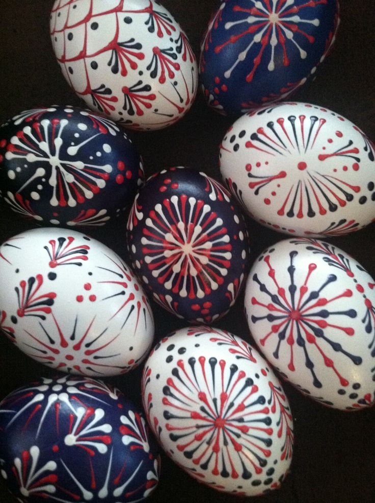 Pysanka.  Ukrainian Art Form  Pysanky Eggs.