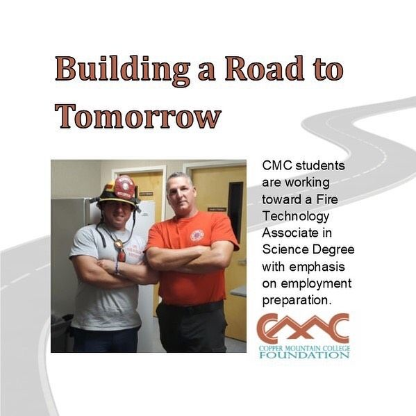 This Semester Copper Mountain College Foundation Funded Thirteen Sets Of Personal Protective Equipment Ppe Or Turnout Gear For The Current Fire Academy Studen