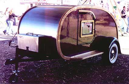 old teardrop trailers | AMERICAN TRAILERs - Vintage RV Travel Trailers, TEARDROP's, MOTORHOMES ...