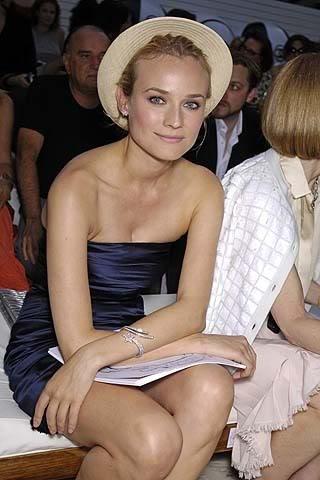 Genial Diane Kruger en el desfile de Chanel Colección Crucero 2009 - Toujours parfait