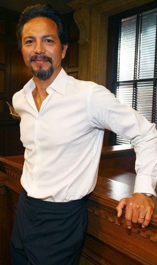 Benjamin Bratt as David James, Lissettes father. Handsome older man