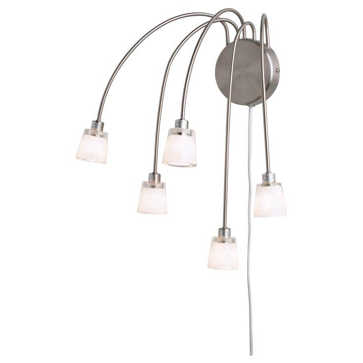 Kryssbo wall lamp ikea lamps pinterest dressing for Dressing table lamp lighting