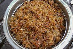 Funtschosa, ein beliebtes Rezept aus der Kategorie Fleisch & Wurst. Bewertungen: 28. Durchschnitt: Ø 4,4.