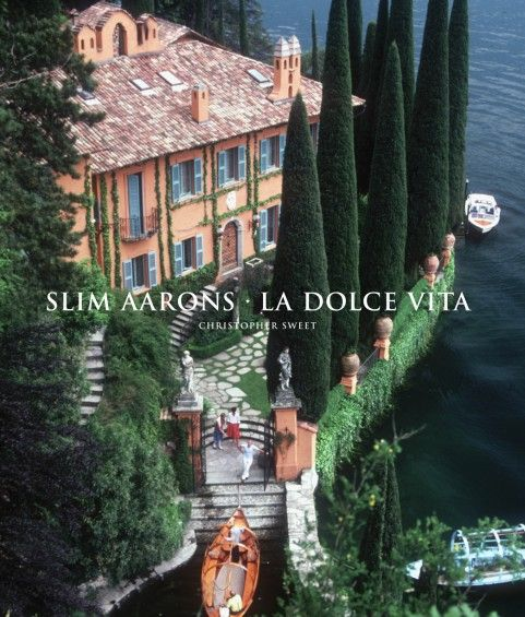 La Dolce Vita by Slim Aarons..amazing book to give as welcome gifts for a destination wedding in italy