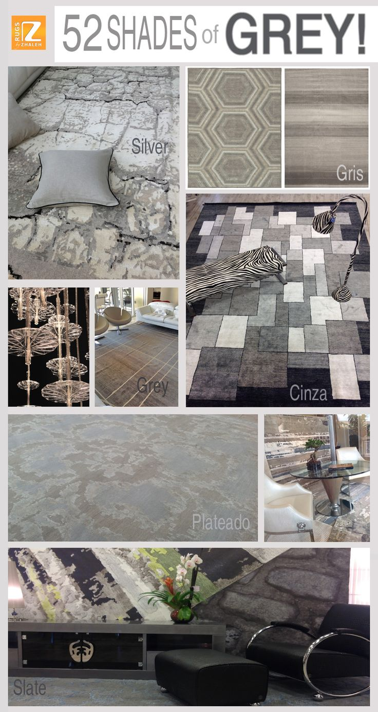 Introducing U2026 52 Shades Of GREY! Rugs By Zhaleh 358 San Lorenzo Ave Suite #  · Coral GablesGrey ...