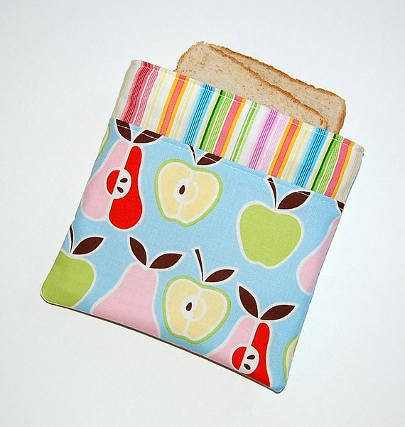 Reusable sandwich bag by RKEMdesigns $4.87 at Etsy.com