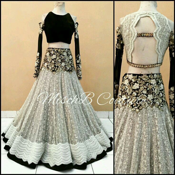 Indian lehenga dress. Pinterest: @reetk516
