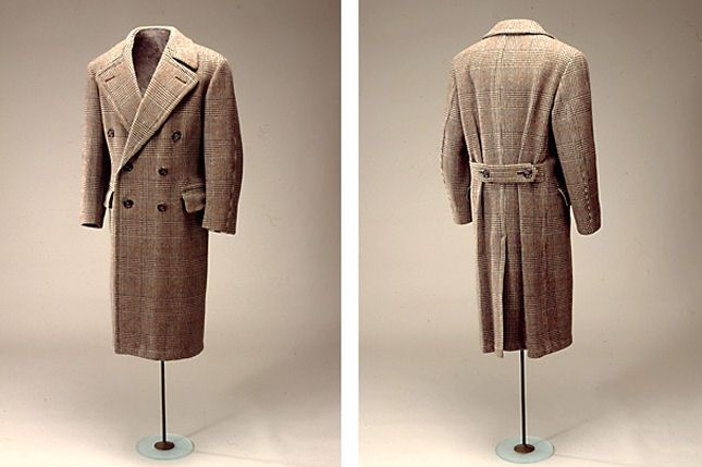 1930's Danish men's coat with London cut