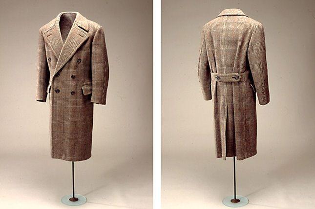 1930's Danish men's coat with London cut