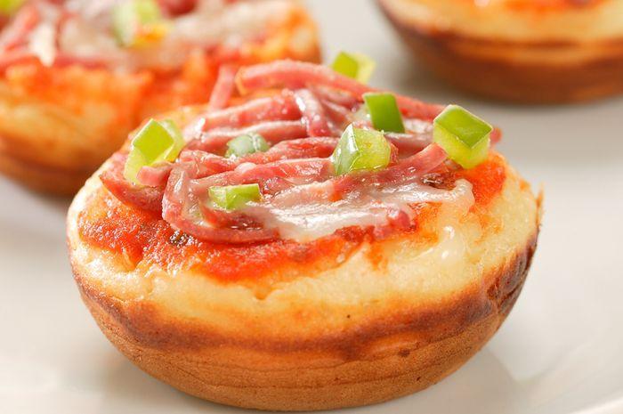 Pukis Asin Ini Tampil Unik Dengan Topping Pizza Selain Nikmat Disajikan Sebagai Menu Sarapan Atau Camilan Pukis Al Resep Makanan Dan Minuman Hidangan Penutup