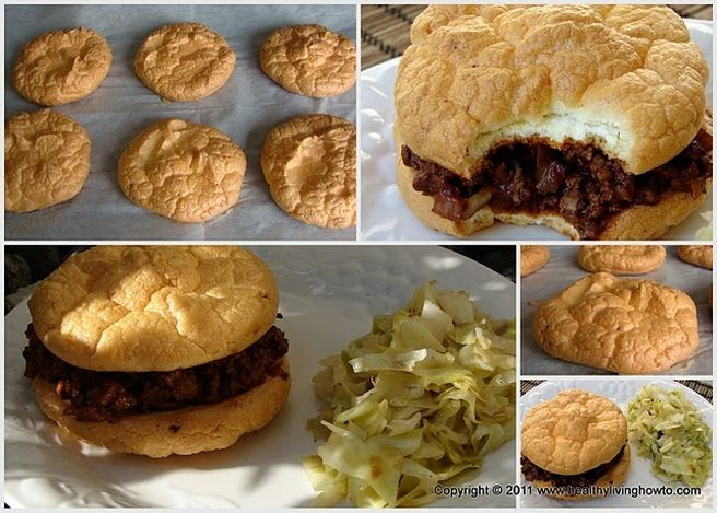 I do miss buns for my hamburgers and will give this a try. This recipe is made with eggs, cream of tartar and cottage cheese and only 1 carb for a whole bun.#low carb