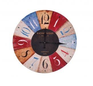 Kolorowe zegary ścienne
