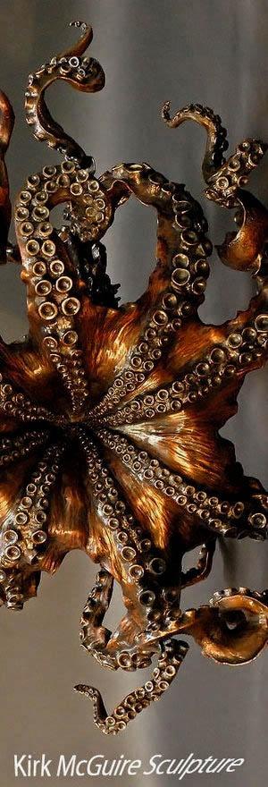 Bronze sculptures by Kirk McGuire