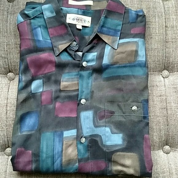 I just discovered this while shopping on Poshmark: Handsome Mens Dressy Casual Shirt. Check it out!  Size: M, listed by 1curatedcloset