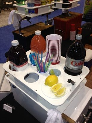 Reel Adrenaline Energy Drinks has released its newest product, the #Docktail Bar, a multi-functional portable dry bar and beverage mixing station for boats at ICAST 2014. | Outdoor Channel, #ICAST, #Fishing