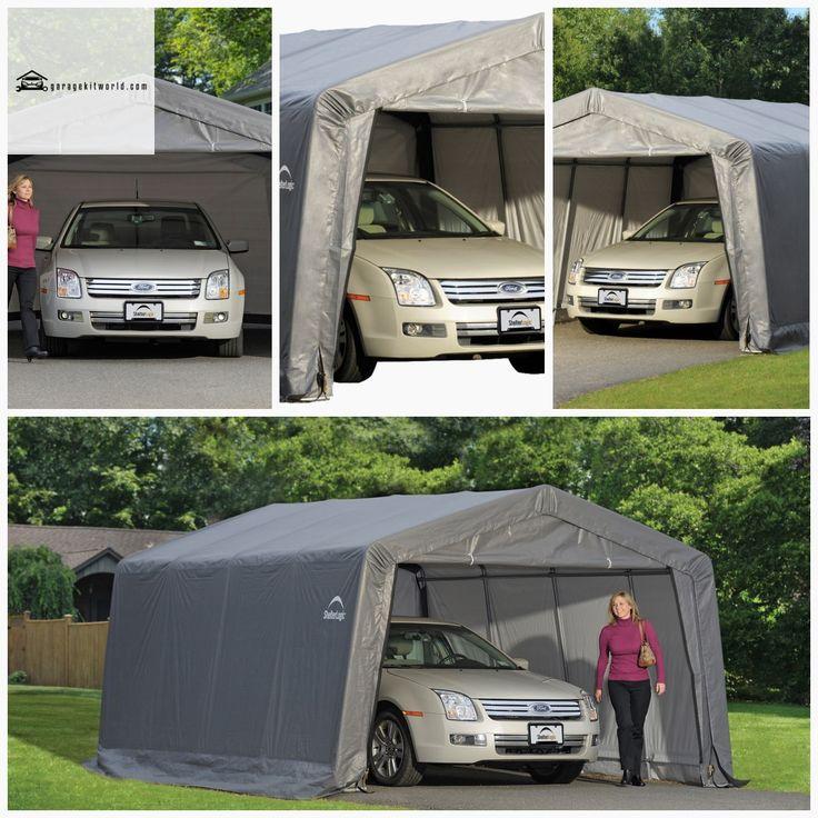 ShelterLogic 12 x 16 ft. GarageinaBox garagekit