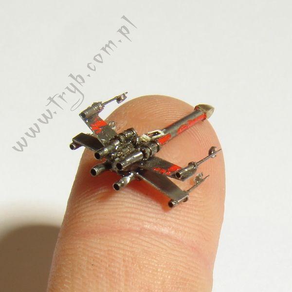 making of... X-Wing medallion #clockwork #handmade #miniature #starwars #x-wing #jewelry #medallion