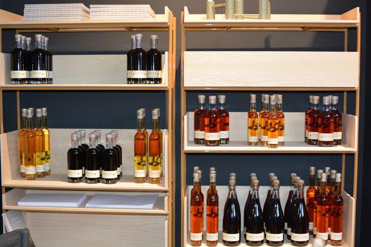 Cold Hand Winery beautiful display.