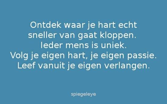 Citaten Volg Je Hart : Volg je hart i love nederlandse quotes citaten