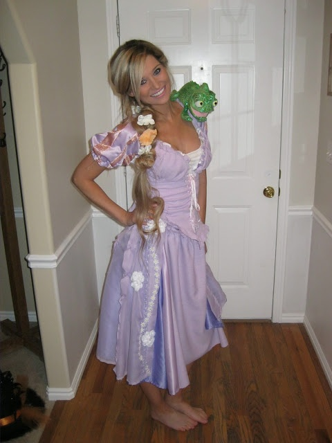 tangled halloween costume totally doing this with preston as flynn rider - Halloween Costumes With Blonde Wig