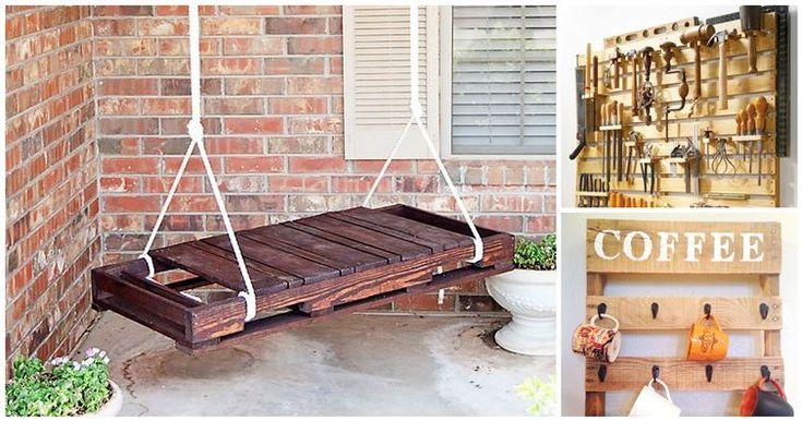 16 κατασκευές με ξύλινες παλέτες που πρέπει να δοκιμάσετε! Θα σας λύσουν τα χέρια! Crazynews.gr