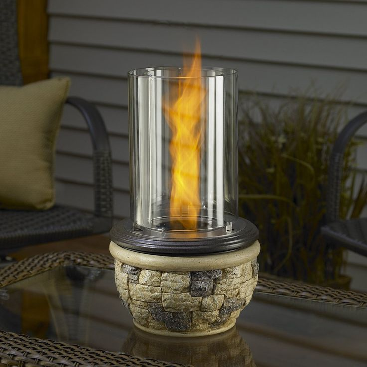 Outdoor GreatRoom Ledgestone Tabletop Fire Pit   Fire Pots At Hayneedle