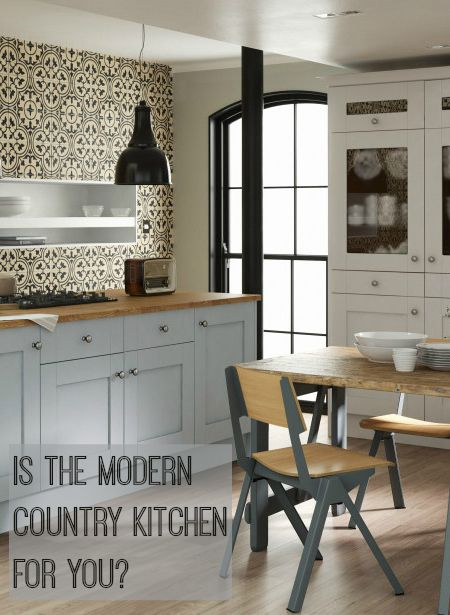 Would a modern country kitchen work in your home? find out from the blog post. Lots of lovely images to help you choose the right style for you.